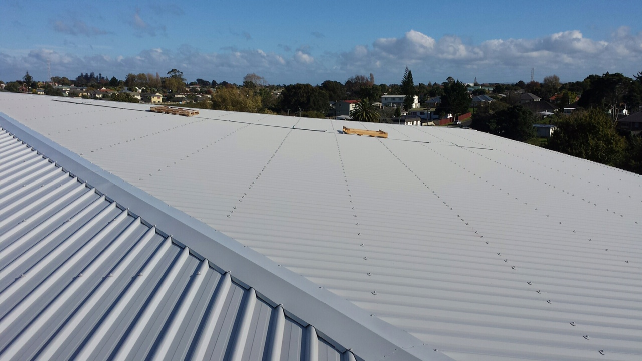 COMMERCIAL ROOFING - CHURCH